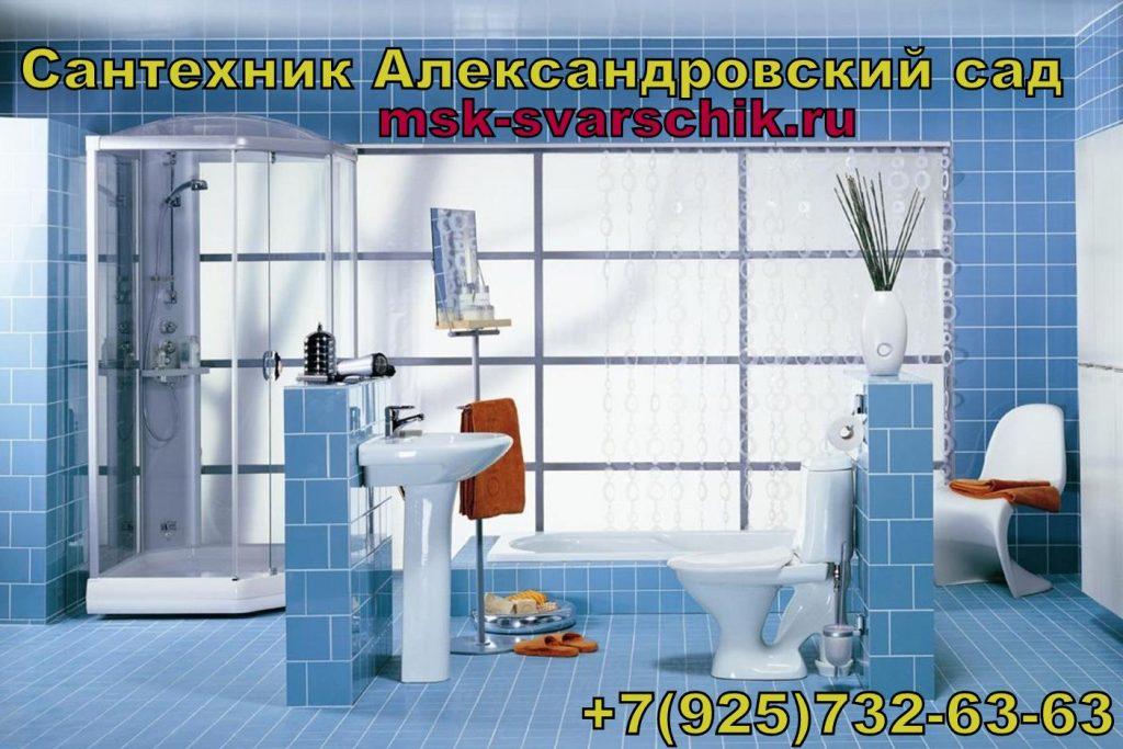 Сантехник Александровский сад