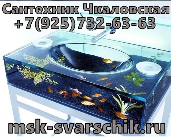 Сантехник Чкаловская