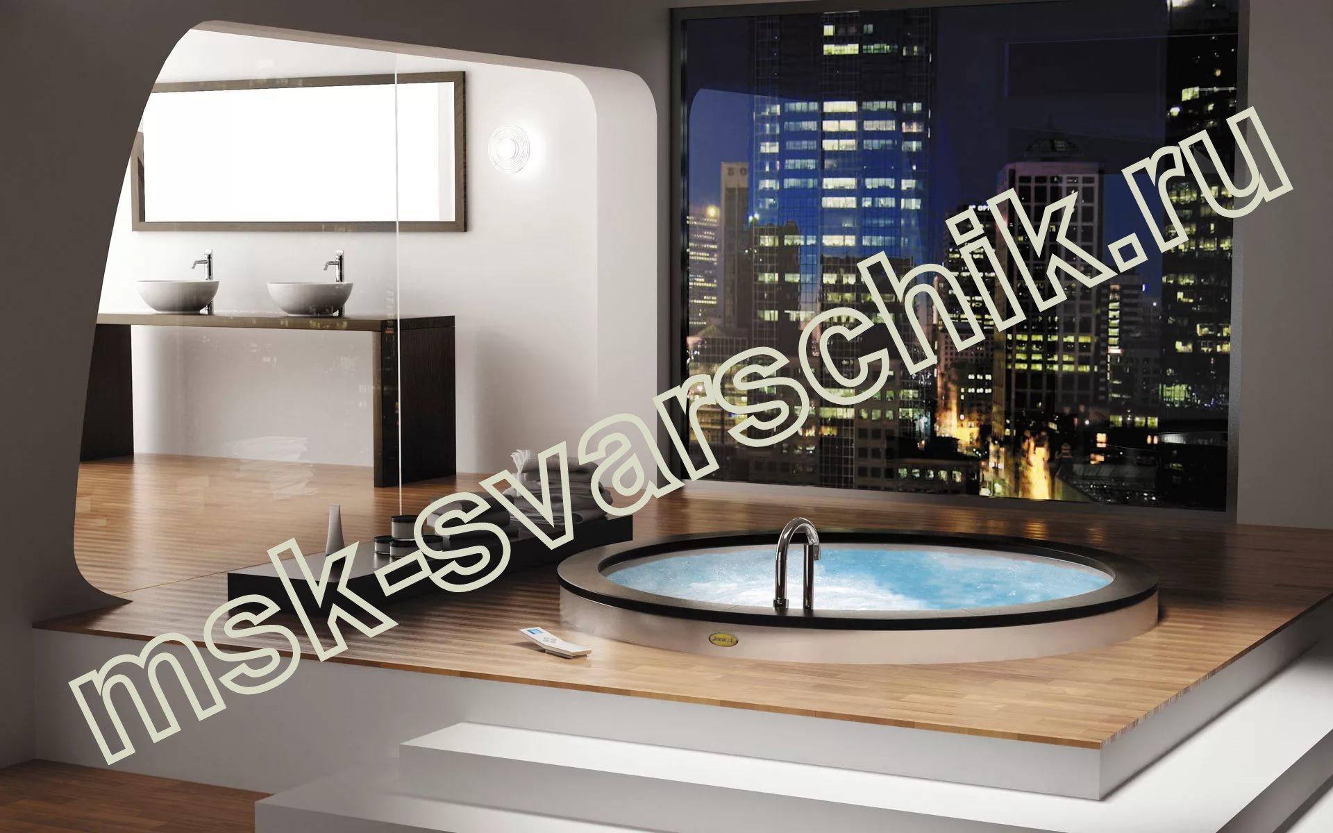 Подключение ванны москва