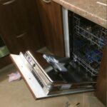 Подключение встраиваемой посудомоечной машины. Навеска фасада. Регулировка.