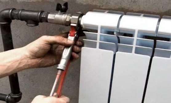 Как установить радиатор отопления;