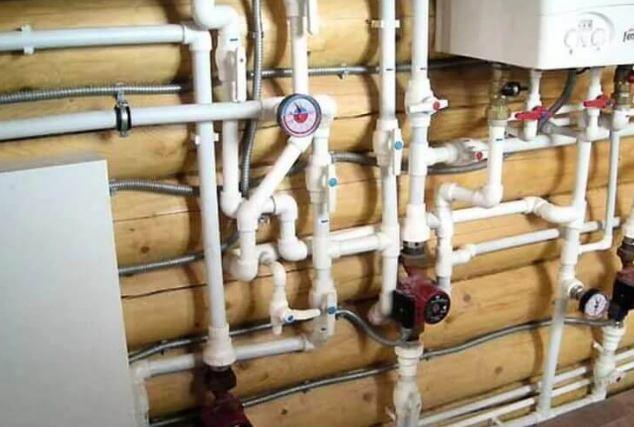 Монтаж (прокладка) водопровода из полипропиленовых труб;