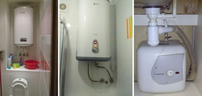 Подключение установка накопительного водонагревателя москва и область