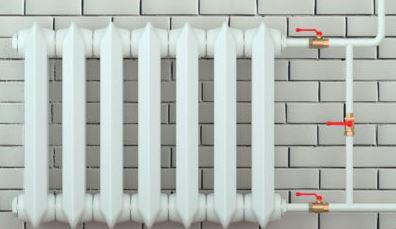 установить чугунную батарею отопления