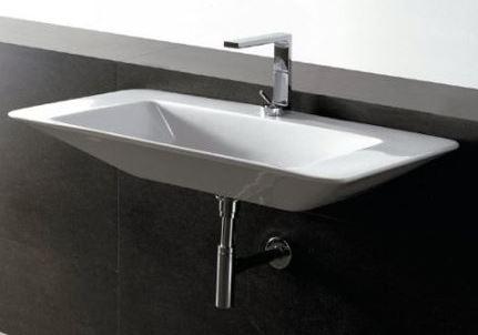 Установка раковины к стене в ванной и к столешнице;