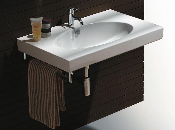 Установка раковины в ванной;